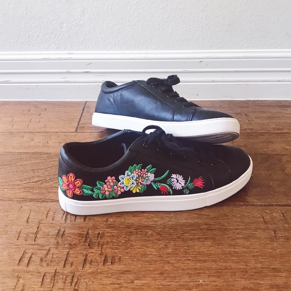 deef135f4bf Steve Madden Shoes - Steve Madden embroidered beaded sneakers